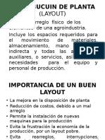 Distribucuin de Planta (Layout)