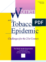 WHO Conference on Women and Tobacco in Kobe