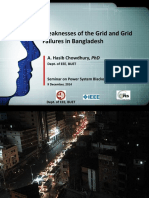 BPS Grid Weaknesses and Grid Failures