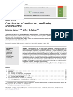 Coordination of Mastication, Swallowing