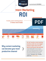 Content Marketing ROI Kapost Eloqua