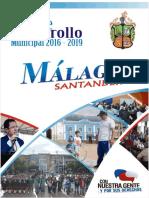 Plan de Desarollo Municipal Malaga 2016 2019