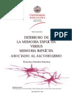 Estudio Completo de Memoria Explicita e Implicita