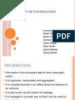 Foundation of Information System