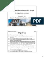 prestressed concrete design