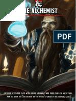 The Alchemist (a Class & 4 Archetypes for D&D 5e)