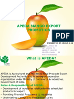 Mango Export Business in India - APEDA