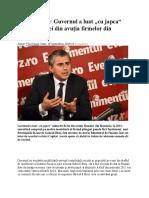 Gabriel Biriș Interviu
