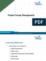 6 Project Scope Management