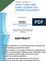 205814081 Blast Resistant Building Ppt