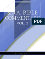 SDA Bible Commentary, Vol. 3 (EGW)