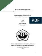 MAKALAH BAHASA INDONESIA SEMANTIK SINTAKSIS.doc