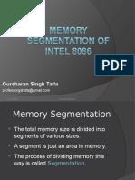 Memory Segmentation of 8086