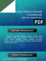 Cut of Grade (Metode Perhitungan Cadangan)