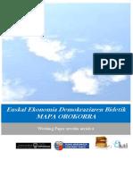 Euskal Ekonomia Demokraziaren Bidetik. MAPA OROKORRA