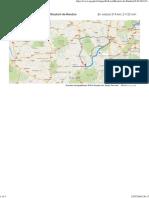 (Lyon à Rieutort-De-Randon - GoogleMaps)