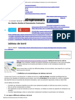 Le Tableau de Bord, Outil de Piblotage de l'Entreprise _ Le Coin Des Entrepreneurs