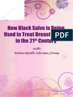 How Black Salve is Being Used to Treat Breast Cancer in the 21st Century