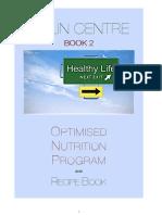 Optimised Nutrition Program - Book 2