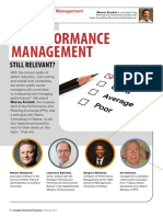 Government Services is Performance Management Still Relevant