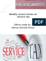service tax in india