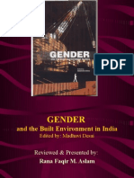 Gender and the Built Environment in India