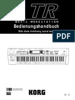 KORG TR Handbuch