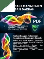 reformasi manajemen keuangan daerah PPT