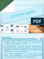 49930761 Letter of Credit Ppt