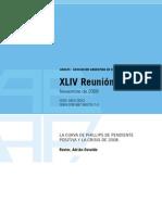 Ravier, Adrián - 2010 - La Curva de Phillips de pendiente positiva y la crisis de 2008 - AAEP