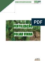 Fertilização da Vinha