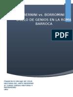Borromini vs Bernini