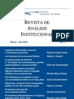 Ravier, Adrián - 2008 - Dos tradiciones y un debate en torno a la neutralidad del dinero en el largo plazo, RAI No. 2, Fundación Hayek.