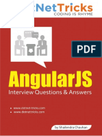 Angularjs Interview Questions And Answers For Experienced Pdf