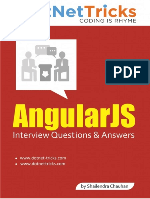 AngularJS Interview Questions & Answers - By Shailendra