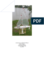 Autonomous Model Sailboat