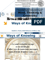 Ways of Knowing R.fiorini