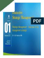 Modul PPT 1 Manajemen Strategik