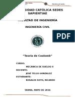 Teoria de Coulomb - Ricardo Rosales Soto