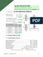 8. Analisis Kekuatan Pier