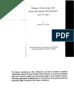 Western Technology and Soviet Economic Development 1930-1968 - DOCUMENTS Parts 1-3