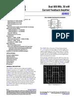 AD8002 data sheet