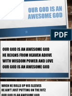 Our God is an awesome God.pps