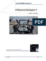 Manual Del GPS BMW Navigator v Ver 30.05.14