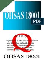 Apresentação OSHAS 18001