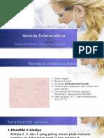 Zoonosis Yersinia Enterocolitica
