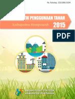 Statistik Penggunaan Tanah Kabupaten Mempawah 2015