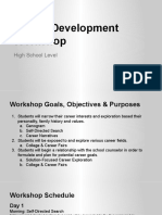 High School Career Development Workshop