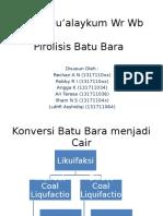 Presentation Batu Bara Xx