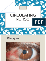 Circulating Nurse